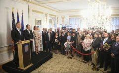 VIDEO: Președintele Iohannis s-a întâlnit cu membri ai comunității românilor din SUA