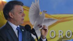 Premio Nobel de la Paz para el presidente colombiano, Juan Manuel Santos