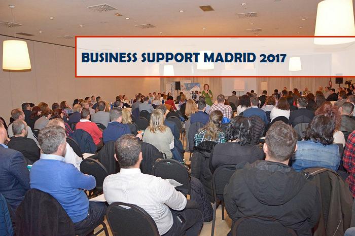 Prima ediție a celui mai important eveniment BUSINESS SUPPORT MADRID 2017, dedicat românilor din Spania