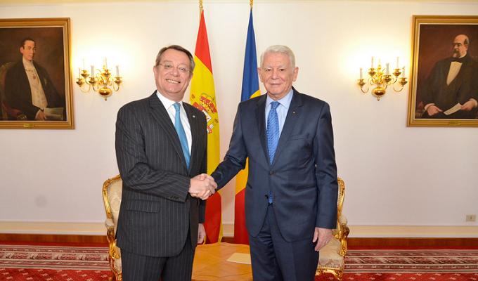 Prima reuniune comună a guvernelor Spaniei și României, agreată la întâlnirea ministrului Meleșcanu cu ambasadorul spaniol