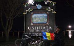 """Primul român care a traversat Americile pe bicicletă, din Alaska până în Ţara de Foc, a ajuns la """"Capătul Lumii"""""""