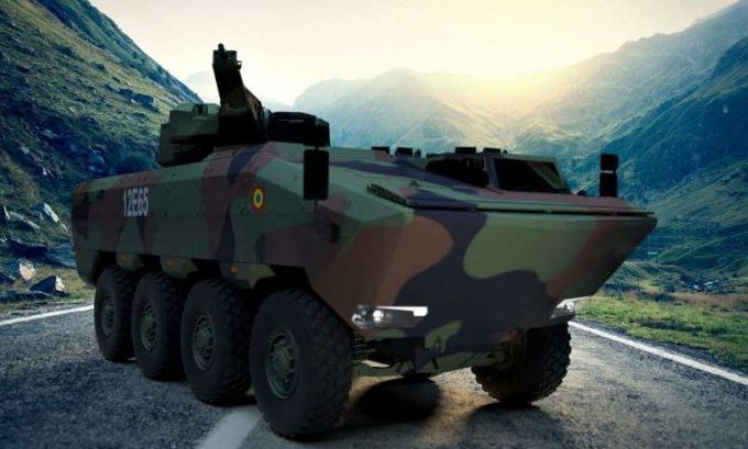 Primul transportor blindat 8x8 AGILIS va ieşi pe poarta uzinei de la Moreni în anul 2020
