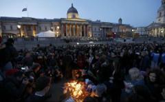 Priveghi în Piața Trafalgar pentru victimele atacului de la Londra