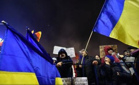 Protest București: Aproximativ 800 de manifestanți în Piața Victoriei