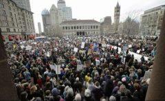 Protest al oamenilor de știință împotriva lui Donald Trump și a administrației sale