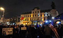 Proteste în marile oraşe, după adoptarea modificărilor la Codul de procedură penală (grupaj)