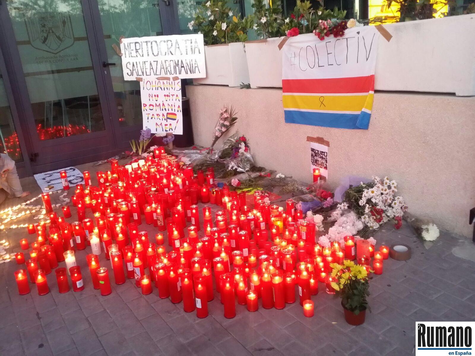 Protestele continuă la Madrid. Românii din diaspora alături de românii din țară