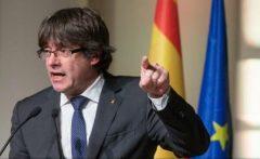 Puigdemont anunță că își va conduce de la Bruxelles 'guvernul legitim', critică atitudinea UE și cere eliberarea 'deținuților politici'