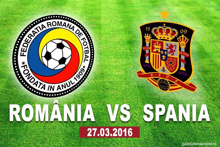 ROMÂNIA - SPANIA (27 martie, ora 21:45). Cine transmite meciul la tv și cine face parte din lotul Spaniei?