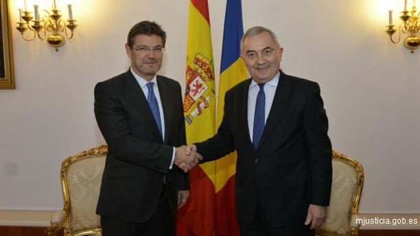 Rafael Catalá realiza un viaje de trabajo a Rumanía y Bulgaria