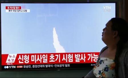 Reacții după ce Coreea de Nord a lansat o rachetă balistică în Marea Japoniei