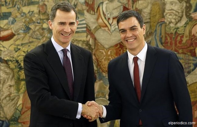 Regele Spaniei îl propune pe socialistul Sánchez să încerce formarea unui guvern