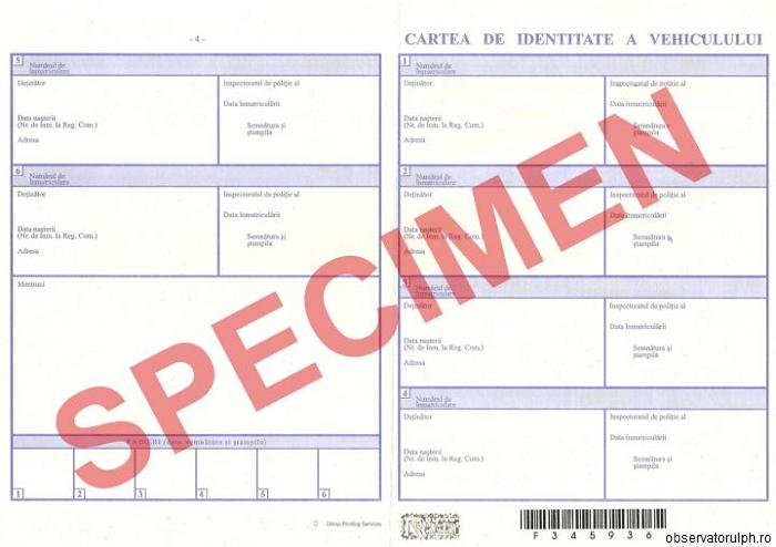 Registrul Auto Român: Cărţile de identitate auto se schimbă de la 1 iulie
