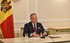 Republica Moldova: Igor Dodon dorește modificarea Constituției pentru ca președintele să poată dizolva Parlamentul