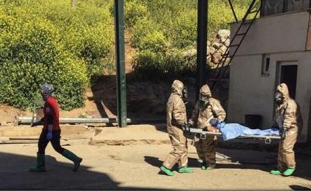Rezultatele autopsiei confirmă utilizarea armelor chimice în atacul din nord-vestul Siriei (ministru turc)