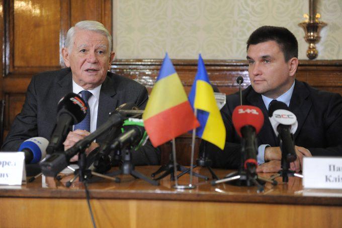 România şi Ucraina ar putea semna un protocol privind dreptul românilor din Ucraina de a învăţa în limba maternă