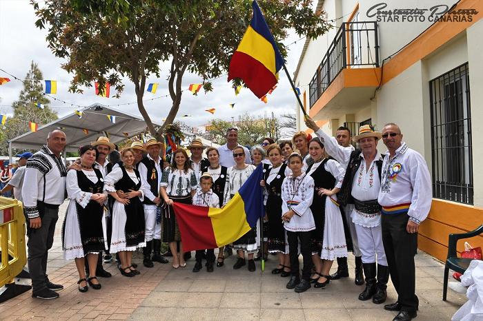 România, țară gazdă la a VII-a ediție a Festivalului Multicultural din La Barrera – Valsequillo, Gran Canaria (Spania)