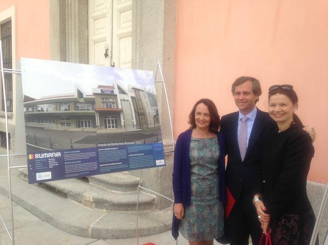 """România a participat la expoziția de fotografie """"Construim Europa"""" prezentată în Palatul Infantelui Luis din Boadilla del Monte"""