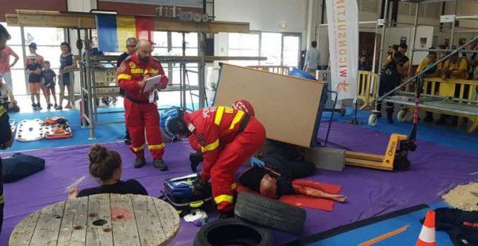 România, locul doi la Competiţia Mondială de Salvare - proba 'acordarea primului ajutor calificat'