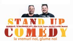 Românii din Spania vor râde în hohote la un spectacol de comedie cu Bobonete, la Madrid