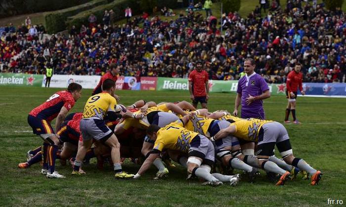 Rugby: Spania – România 18-21, victorie împotriva Spaniei în Cupa Europeană a Națiunilor
