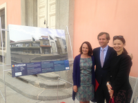 """Rumanía participa en la Exposición de fotografía """"Construimos Europa"""" presentada en el Palacio del Infante D. Luis de Boadilla del Monte"""