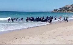 VIDEO: Ruta maritimă Maroc-Spania, preferată de tot mai mulți migranți, dispuși să se aventureze în bărci sau ski-jeturi