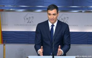 Sánchez negociará con Iglesias si Rajoy fracasa en su investidura