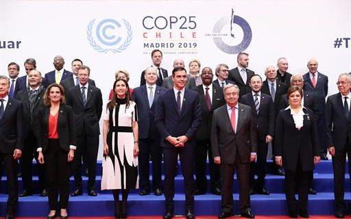 """Sánchez pide a los líderes mundiales mayor """"acción y ambición"""" contra la emergencia climática"""