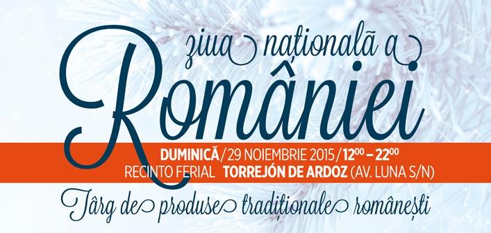 Sărbătorește printre români, în Torrejón de Ardoz, Ziua Națională a României