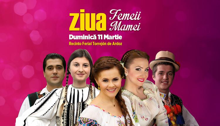 Sărbătorim împreună Ziua Femeii și Ziua Mamei într-un concert extraordinar în Torrejón de Ardoz-Madrid