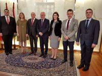 Semnarea acordului bilateral de cooperare între comunitatea autonomă La Rioja şi Consiliul Judeţean Buzău (Logroño, 28 martie 2018)