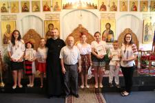 Serbare de final de an la Școala Parohială din Valdemoro, Spania