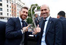 Sergio Ramos îi mulţumeşte lui Zidane pentru cei doi ani şi jumătate de 'fotbal, muncă şi prietenie'