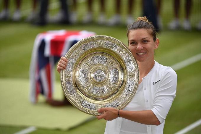 """Simona Halep: La primera tenista rumana en ganar Wimbledon. """"El mejor partido de mi vida"""""""