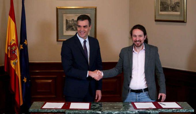 Spania: Acord preliminar între PSOE şi Unidas Podemos în vederea formării unei coaliţii guvernamentale