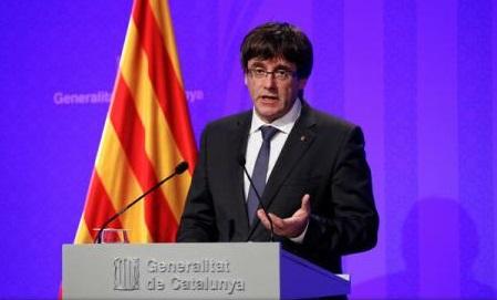 Spania: Carles Puigdemont solicită retragerea forțelor de ordine desfășurate de Madrid în Catalonia