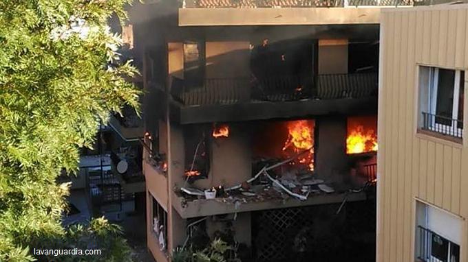 Spania: Explozie într-un imobil aproape de Barcelona, soldată cu un mort și 14 răniți (pompieri)