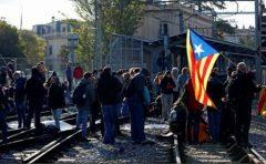 Spania: Grevă, autostrăzi și trenuri blocate în Catalonia la apelul separatiștilor