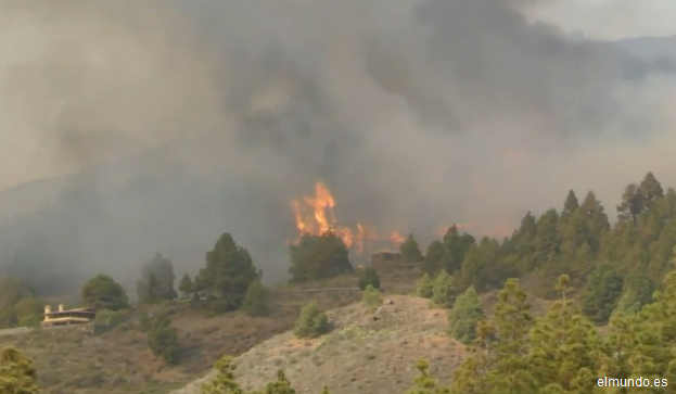 Spania: Incendiul din insula La Palma, stabilizat pe toate fronturile