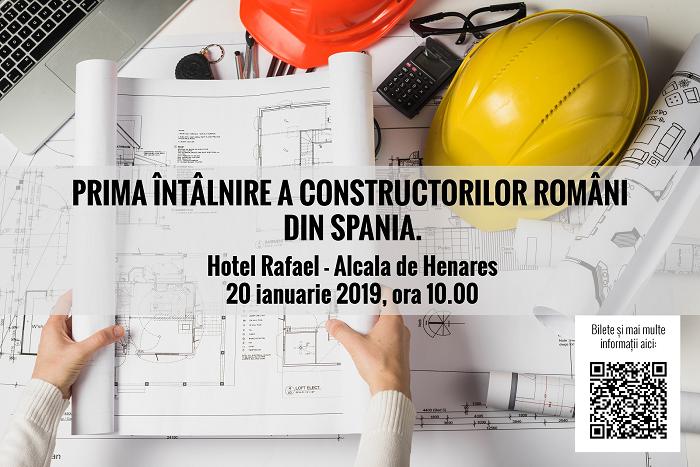 Spania, Madrid: Participă laPRIMA ÎNTÂLNIRE A CONSTRUCTORILOR ROMÂNI