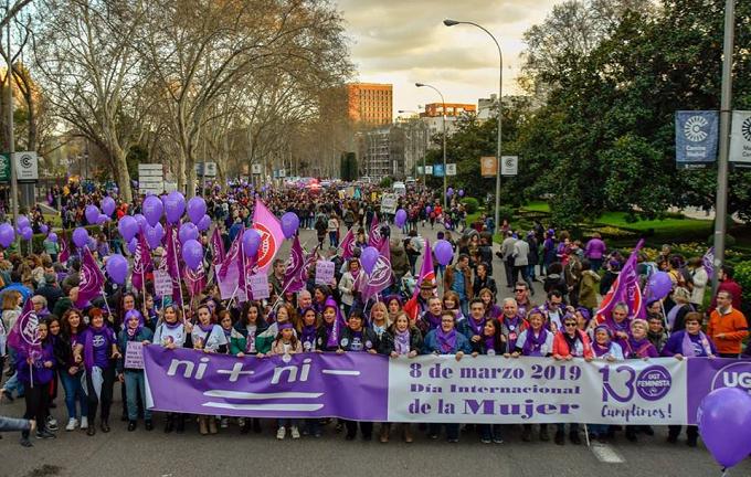 Spania: Manifestaţii masive de 8 Martie la Madrid şi Barcelona pentru drepturile femeilor