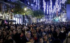 Spania: Mii de persoane au protestat la Madrid față de violențele împotriva femeilor