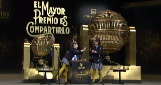 Spania: Numărul 03347 - câştigător al premiului 'Gordo' al Loteriei de Crăciun