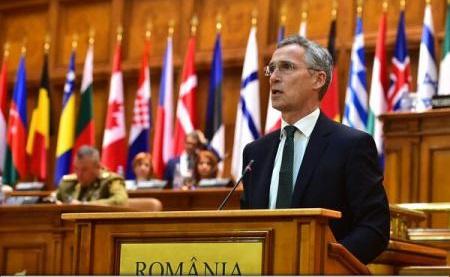 VIDEO Stoltenberg: Cooperarea cu UE și relațiile cu Rusia, printre subiectele importante ale Summitului NATO din 2018