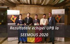 Studenţii de la UPB au obţinut patru medalii la SEEMOUS 2020