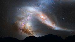 Studiu Spania: Calea Lactee se extinde către galaxia Andromeda cu circa 500 de metri pe secundă