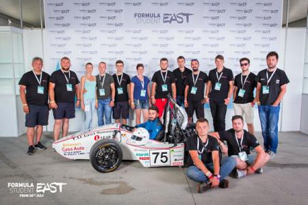 TUIași Racing, singura echipă din România care va participa la Formula 1 pentru studenți din Olanda, în 17-20 iulie