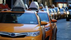 Taxistas de toda España – huelga contra Uber y Cabify