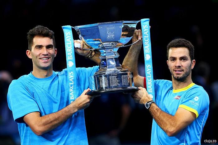 Tecău și Rojer au câștigat titlul de dublu la Madrid (ATP)
